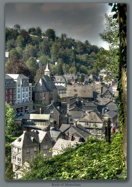 Roofs of Monschau