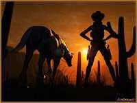 CowGirl's Sunset